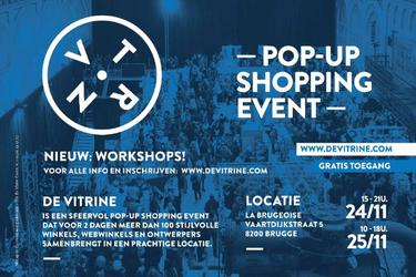 De Vitrine, Pop-up shopping event