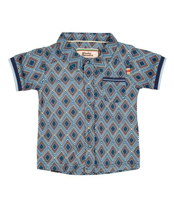 4 Funky Flavours Shirt Stepping Back In Time 20S6127
