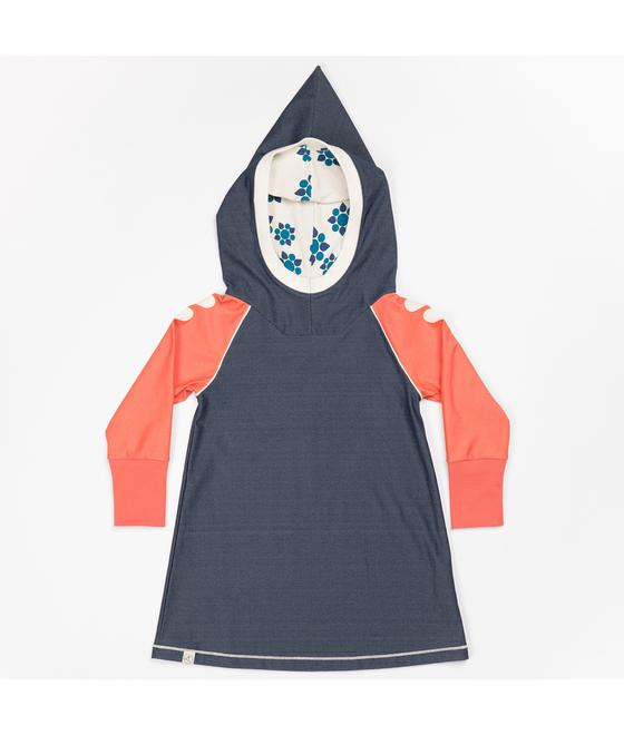 Hope hood dress mood indigo 2343