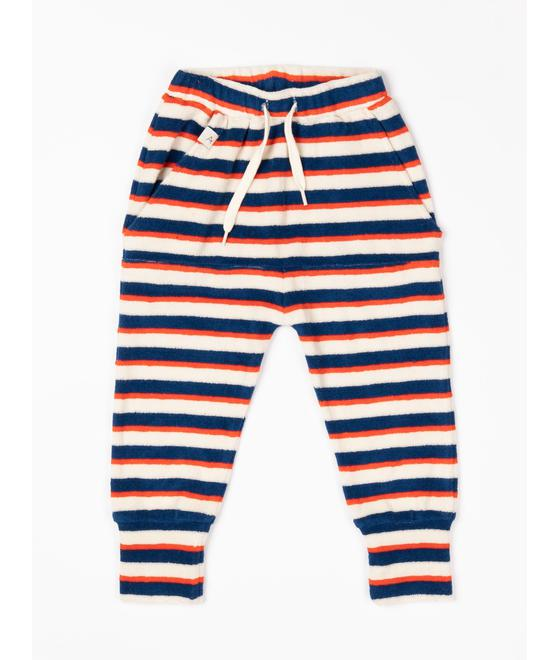 Alba of Denmark Mason Pants Solidate Blue Striped 2508 588