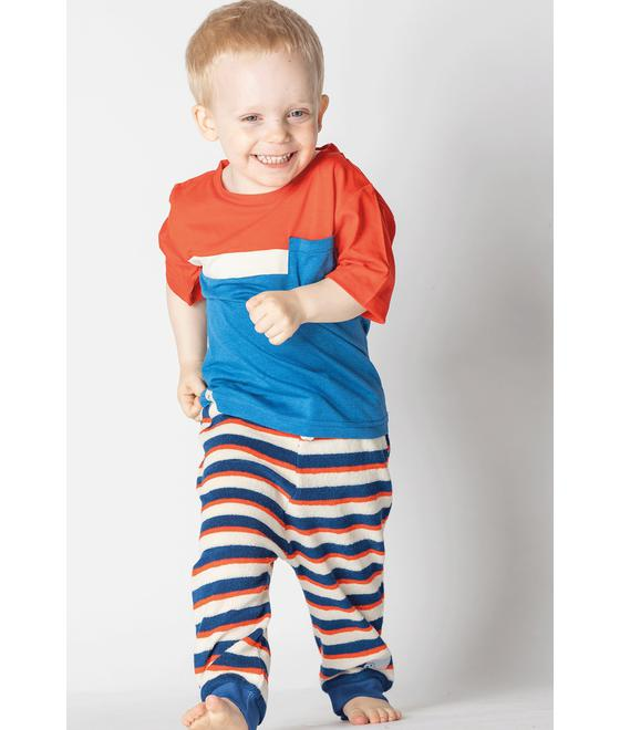 Alba of Denmark Lucca Baby Pants Solidate blue striped 2524 588