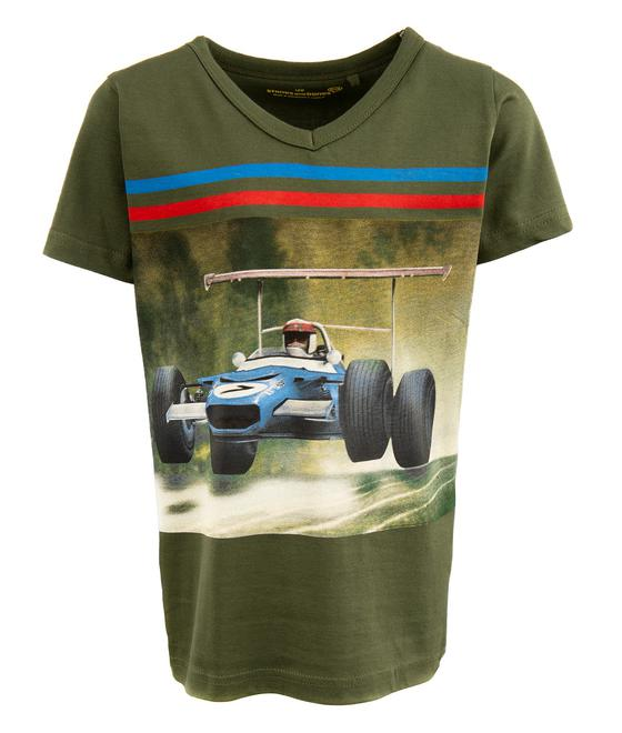 Stones and Bones T-Shirt - Short Sleeves STANTON - JUMP Khaki 23419