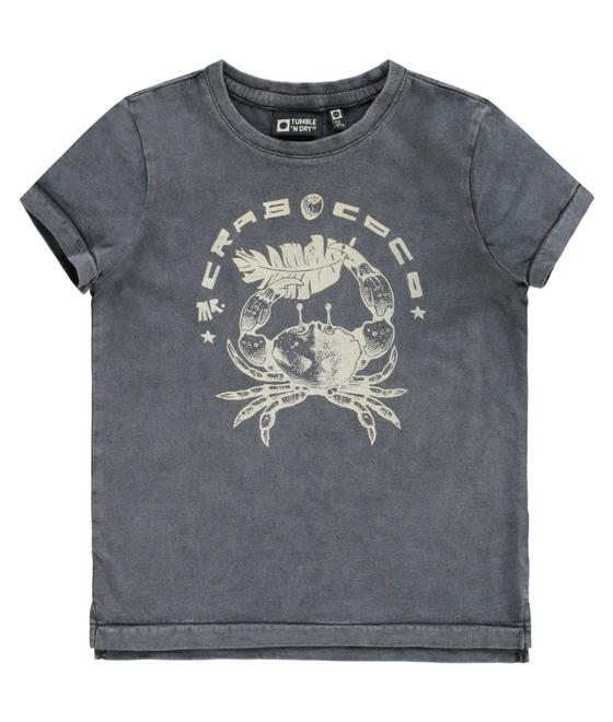 Tumble 'n dry T-shirt Dentroy grey asphalt 30705.00434 T19SS50723