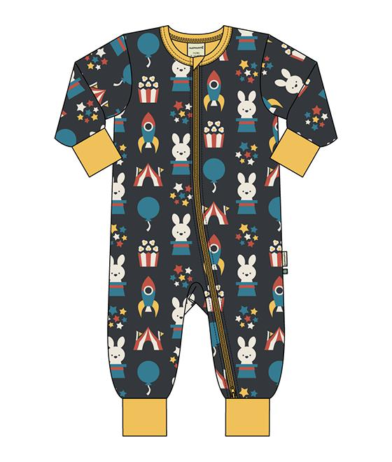 Maxomorra Rompersuit LS Fun park M477-D3278-73145001535