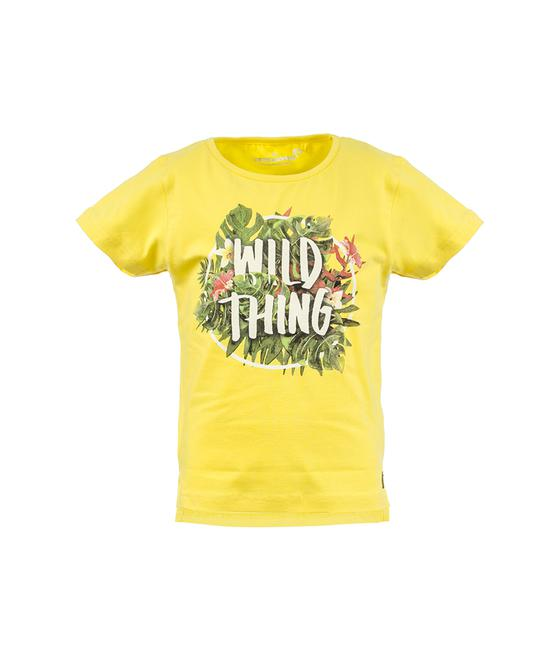 T-shirt Suzette wild thing lemon 34312
