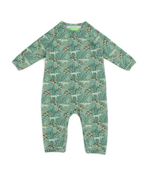 Lily Balou Gerard Babysuit Wolves Green 92-GER-CP_wolves-green