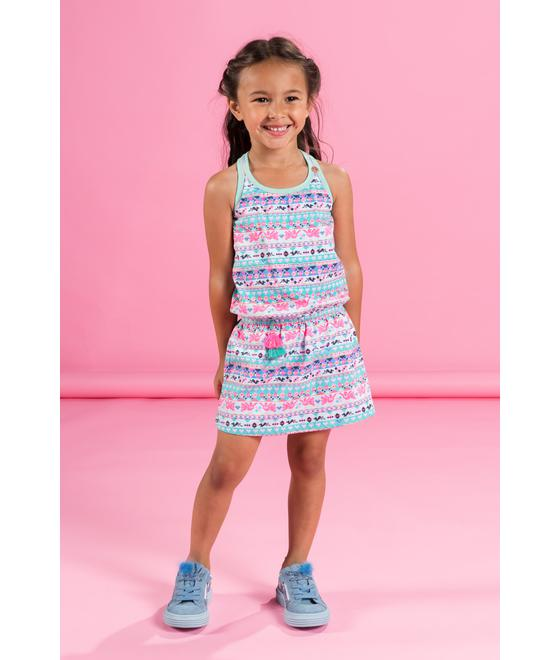 Mim-pi Dress multi colour Mim-310