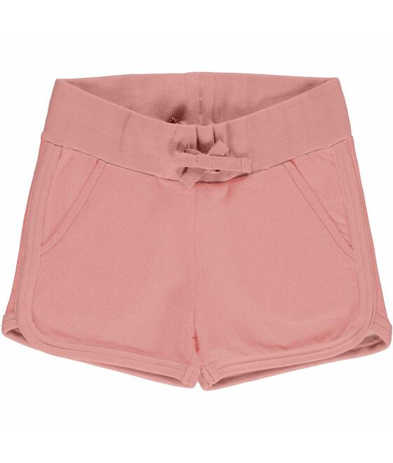 Maxomorra Runner Shorts Sweat Solid DUSTY ROSE M536-D3310