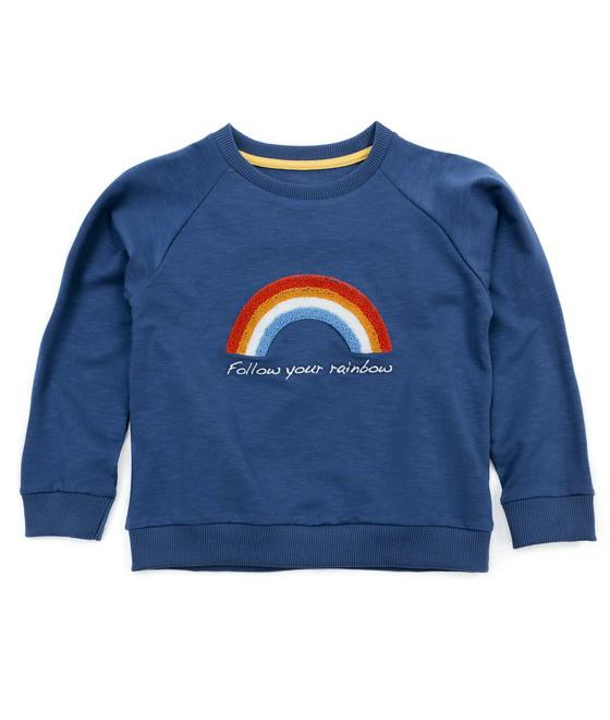 LIV+LOU Rowan Sweater Embroidery Navy