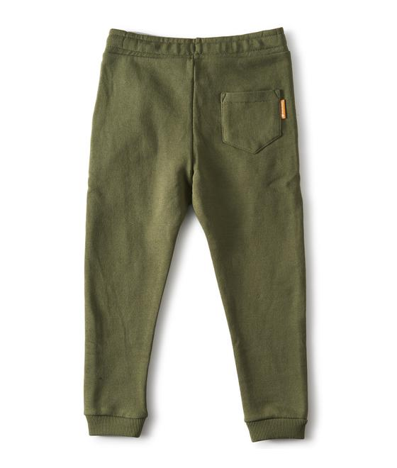 Little label Sweat pants olive green 87198746881