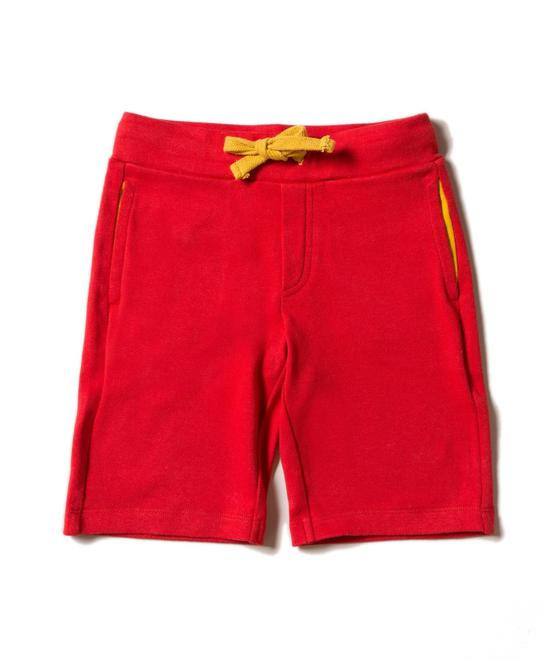 Little Green Radicals  Red Beach Shorts S20-502-RED