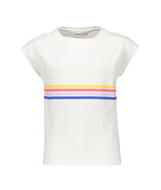 Street Called Madison Luna rainbow tee Happy S902-5407 022-OW