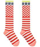 Oilily Mop knee socks 21 red white stripe #hashtag YS19GTI208