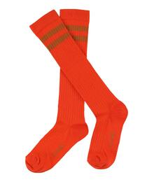 Lily Balou 2-JOS-SO JORDAN STRIPE striped knee socks mandarin red EAN 2211537044261