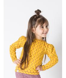 Sabrina blouse nugget gold small flower