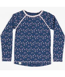Ghita blouse estate blue wild flower 2158
