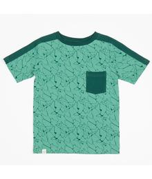 Princeton t-shirt deep sea aquawaves 2170