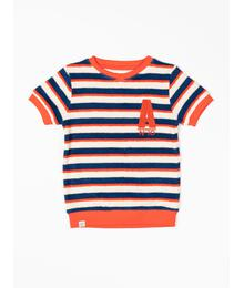 Alba of Denmark Roy T-shirt Solidate Blue Striped 2543 588