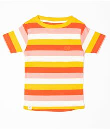 Alba of Denmark The Bell T-shirt 2786 - 722 Strawberry Ice Stripes