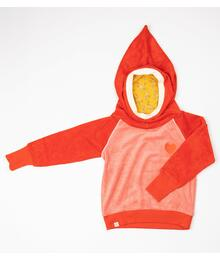 Alba of Denmark Habian Hood Blouse 2793 - 686 Spicy Orange