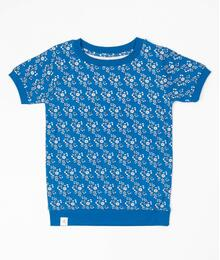 Alba of Denmark Alberte T-shirt 2820 - 717 Snorkel Blue Liberty Love