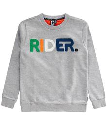 Tumble 'n dry Sweater Fendel grey melange 02Light grey melange 30401.00396