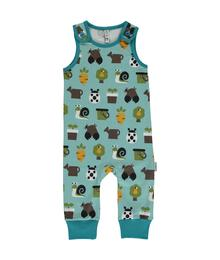 Maxomorra Playsuit Garden 7314500017196 M341-D3214