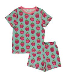 Maxomorra Pyjama set SS Raspberry 7314500024231 M345-D3215