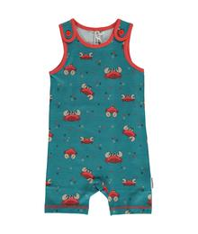 Maxomorra Playsuit Short CRAB 7314500055 - M377-D3244