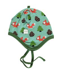 Maxomorra Hat Helmet Velour Busy Squirrel M484-D3267