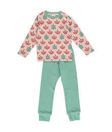 Maxomorra Pyjama Set LS Rowanberry M437-D3268