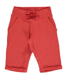 Maxomorra Sweatshorts Knee RUSTY RED 7314500040 - M363-D3258