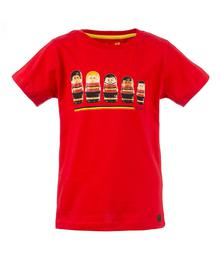 T-shirt Russell go Belgium red 23321