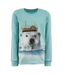 T-shirt Tougher - POLAR BOAT - aqua