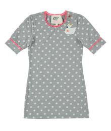 Dress grey dots swan MIM810
