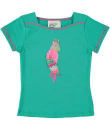 T-shirt green bird MIM830