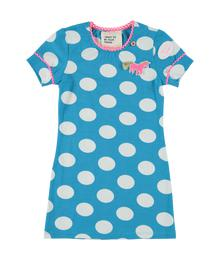 Blue dress dots unicorn MIM889