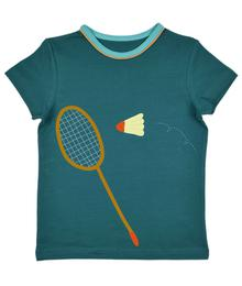 Baba babywear Badminton T-shirt boys Tapestry S20 Jersey single lycra plain