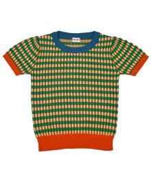 Baba Kidswear SS21 Betty knitshirt Faience knitwear