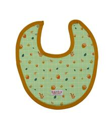 Baba babywear Baby bib Autumn W20 2 fleece lycra brushed screenprint
