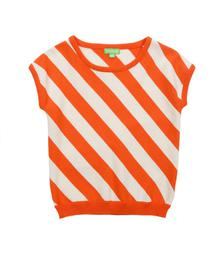 Lily Balou Bella Top Red Orange 91-BEL-KN-RO