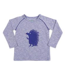 t-shirt baby Bruno slub jersey royal blue