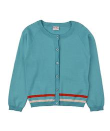 Baba babywear Cardigan Light Blue S19 knitwear