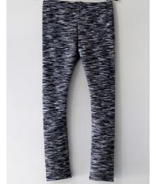 Legging knit fur grey-white W17 CLE 106s