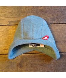 Hat fleece plain ice green W18 HSP 01s