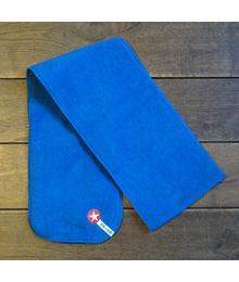 shawl fleece plain blue W18 HSJ 02s