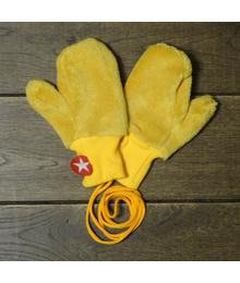 Mittens fur yellow W18 HMI 94s