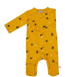 Froy & Dind JUMPSUIT WITH FEET CATS JERSEY COTTON FAW20BGF001C