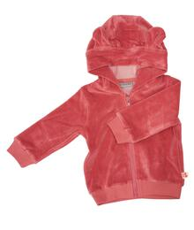Froy & Dind HOODIE BALOU OLD ROSE VELOURS FAW20BGJ014VX05