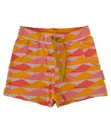 Baba babywear Girls short Sunset S19 jersey single lycra screenprint